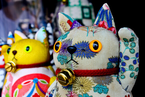 Cores do Maneki-neko