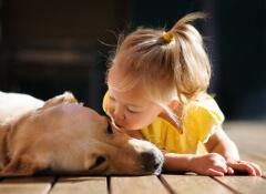 Crianças que conviver com animais têm menos alergias