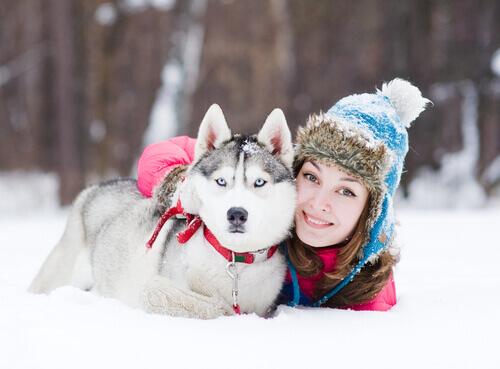 cão-mulher