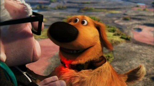 O famoso cão Dug do filme 'Up' se torna real