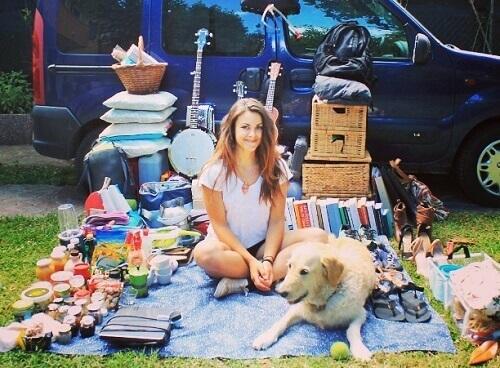 Descubra como Marina reformou a caminhonete para viajar com seu cão