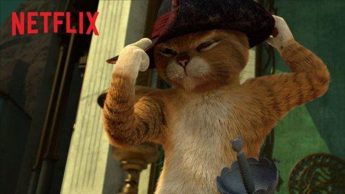 O Gato de Shrek terá uma série na Netflix