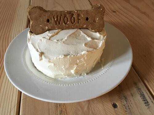 torta para cachorro