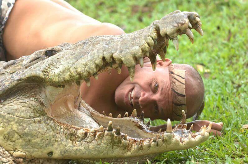 amizade entre homem e crocodilo: Pocho e seu salvador, Gilberto