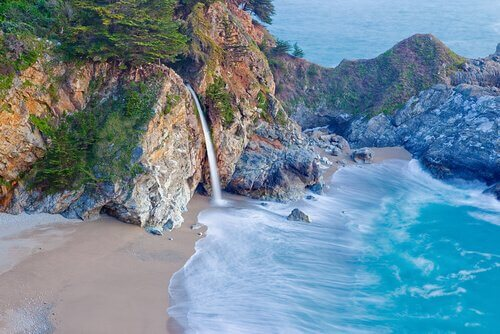 passeios longos pela califórnia
