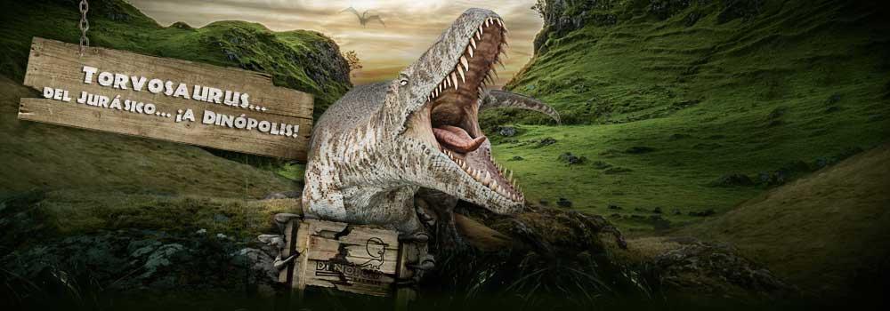 Parque paleontológico Dinópolis
