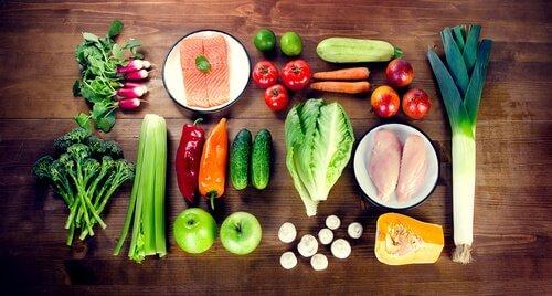 vegetais dieta barf