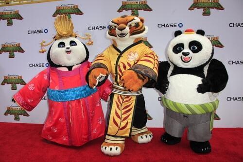 Os animais de Kung Fu Panda e seu simbolismo