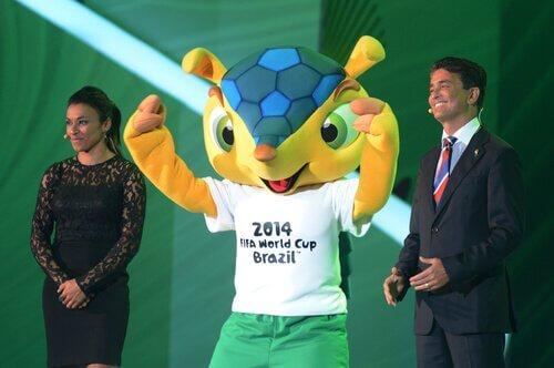 Fuleco: mascote da Copa do Brasil
