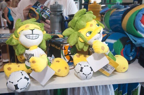 Mascotes da Copa do Mundo
