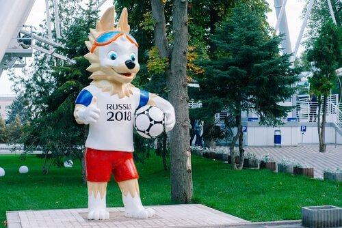 Lobo: mascote da Copa da Rússia