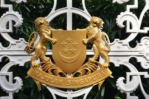 Brasão de Singapura
