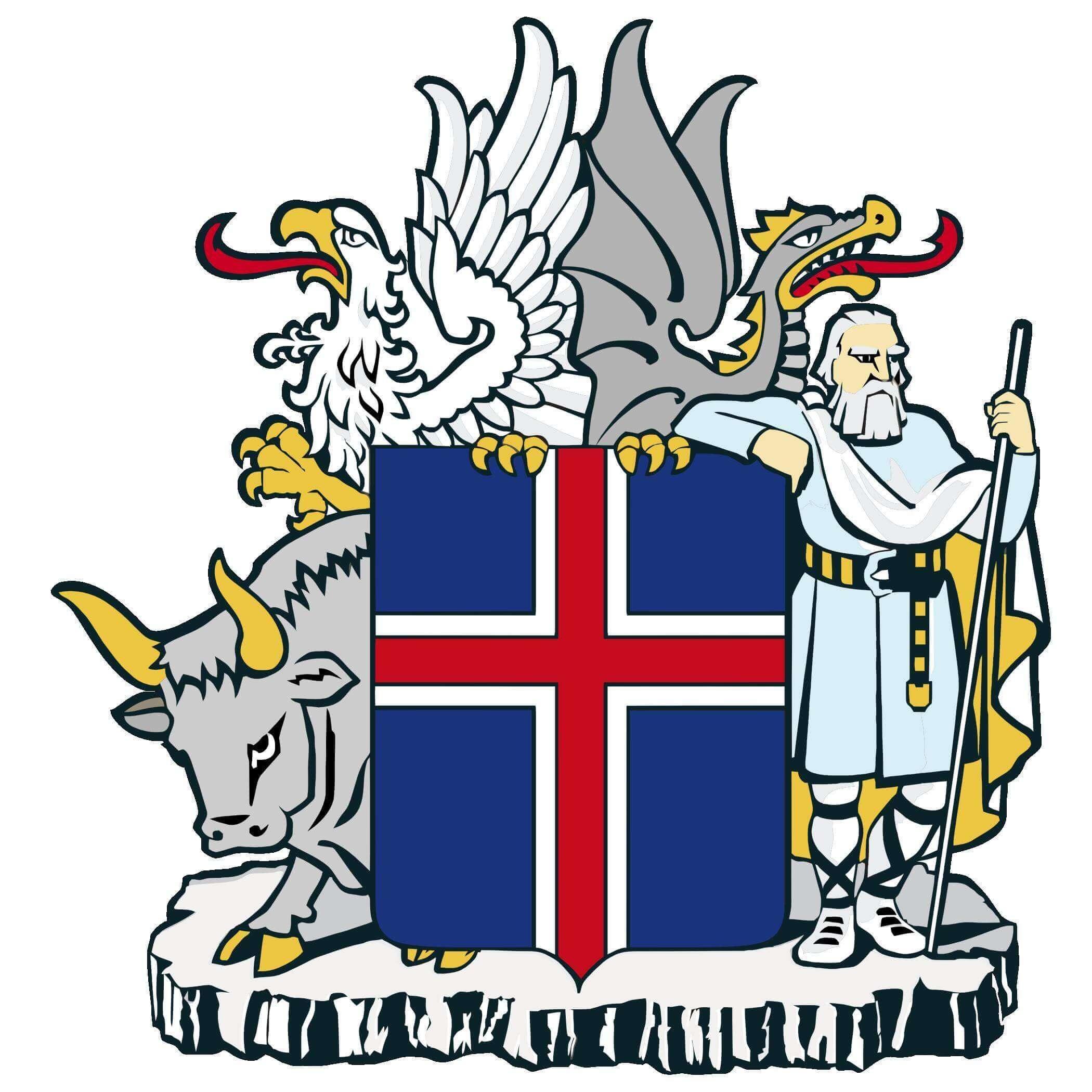 Brasão da Islândia