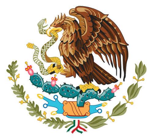 animais em brasões: México