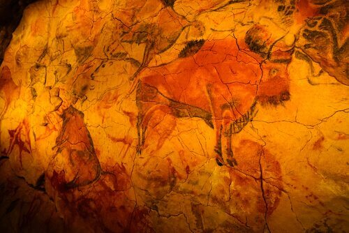 Os animais representados na caverna de Altamira