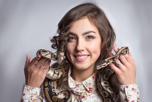 As cobras são animais de estimação perigosos