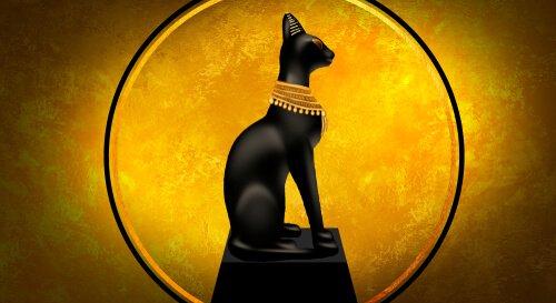 Estilo de vida dos gatos no Egito Antigo