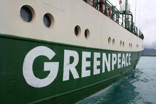 Barco do Green Peace