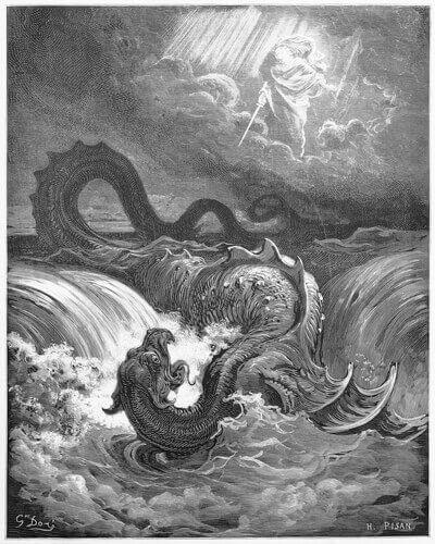 Monstros marinhos: leviatã
