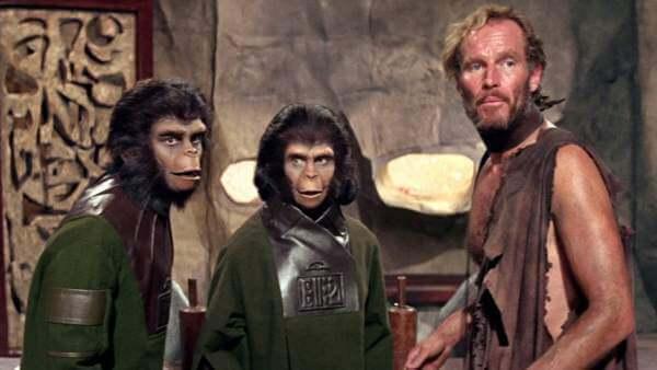 Relações entre humanos e macacos no cinema: Planeta dos Macacos