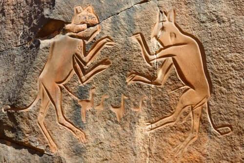 A presença dos gatos ao longo da história