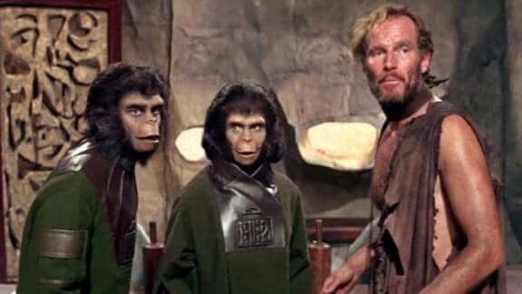 Cena de Planeta dos Macacos