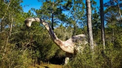 Dinossauros herbívoros: Brontosaurus