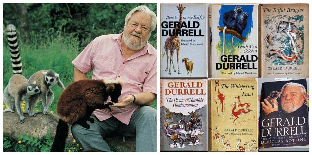 Gerald Durrell: devoção à natureza