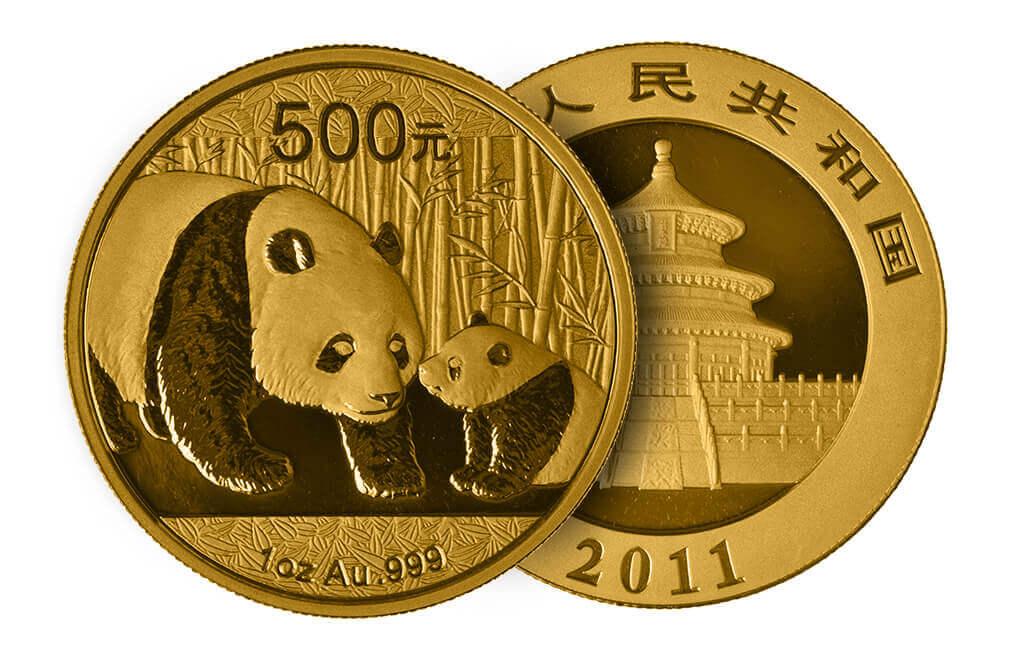 Urso panda: uma das moedas mais desejadas