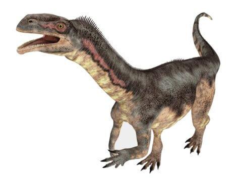 O plateossauro é um dos animais da Europa.