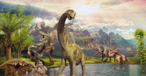 Dinossauro: um dos maiores animais que já habitaram a Terra.